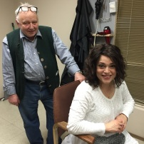 Anton is a third generation wig maker from Vienna. He devotes his life's work to helping people like Abby