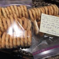 Biscochos courtesy of my grandmother's dear friend, Beverly De Jaen