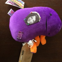 Abby's right kidney resurfaced, this time in the form of a voodoo doll