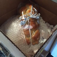 Thanks our NYC Baker cousins for sending a delicious homemade challah - just in time for shabbat
