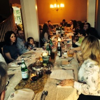 Uncle Mark and Aunt Kiki host an incredible first night seder