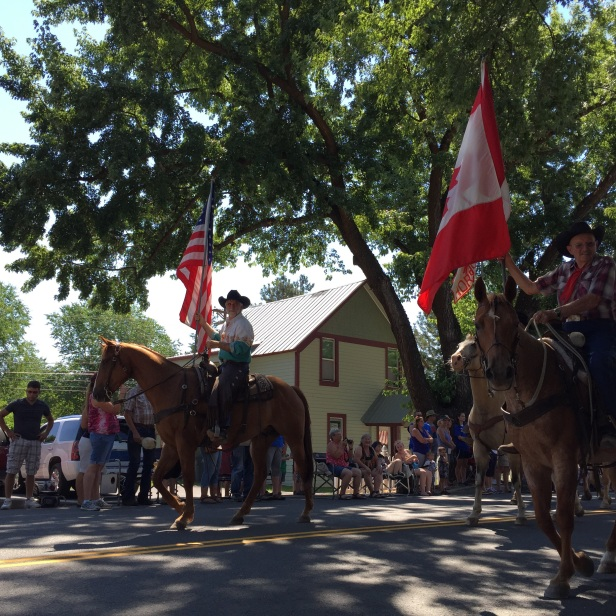 Celebrating the 4th of July in Twisp