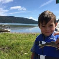 Jaren caught a whopper at Paulina Lake
