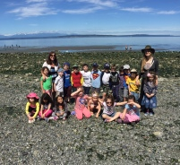 Justin got to chaperone the Kindergarten field trip to Carkeek Park