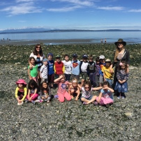 Justin got to chaperone the Kindergarten field trip to Carkeek Park