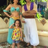 Miri was spellbound by Jasmine
