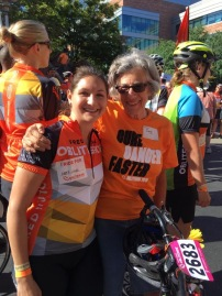 Cancer brings everyone together. Debra found a friend at the starting line.